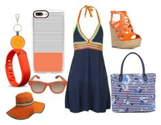 """""""Oranges on the Beach"""" by haschaklover ❤ liked on Polyvore featuring Joules, Casetify, Givenchy, Barneys New York and Fitbit"""