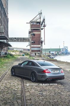 PRIOR-DESIGN PD Black Edition Aerodynamic-Kit for Mercedes CLS
