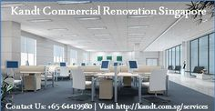 Kandt commercial renovation singapore services gave a better look for your commercial office. For more details visit us : https://kandt.com.sg/services/