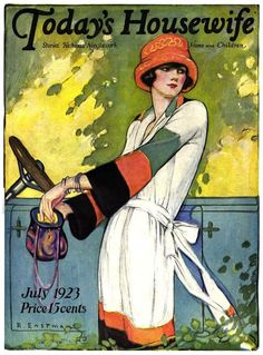 Today's Housewife, July 1923 (Ruth Eastman)