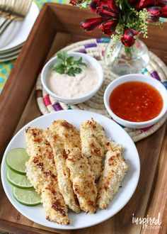 Baked Coconut Chicke