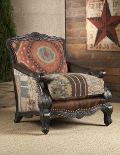 Southwestern Buckley Chair   Lakota Cove - Georgia