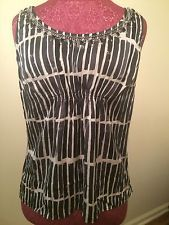 ann taylor Shirt 91% Silk size 8