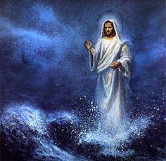 jesus with water pictures | Zolang hij zijn blik gericht hield op Jezus,