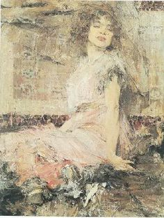 This is a photo of the Nicolai Fechin painting titled The Gypsy. Figure Painting, Figure Drawing, Painting & Drawing, Santa Monica, Nicolai Fechin, Classic Paintings, Original Paintings, Photoshop Me, Art Station