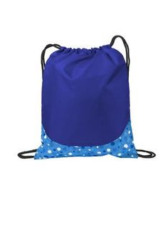Bulk Price Patterned Polyester Cinch Pack Great for Events and Promotions