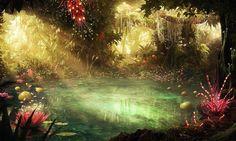 1343113626_mystical pond jungle.jpg 910×544 pixels