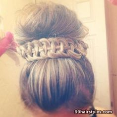 cool hairstyle for medium hair - 99 Hairstyles Ideas