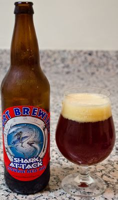 Port Brewing's Shark Attack - After not being overly impressed with the Panzer, this one was right back on the right track. This is everything I like about a good red ale, with the toasted and slightly caramelized malt flavor without the metallic flavor that follows. It has a really nie malt and hop balance that stands up nicely with the body and alcohol level.