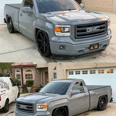 Look at how the sun takes affect on that Brandy Wine 👌🏽👌🏽 Dropped Trucks, Lowered Trucks, Gm Trucks, Custom Chevy Trucks, Dream Cars, Chevrolet Silverado, Instagram, Photo And Video, Vehicles