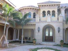 Plan 66008WE: Tuscan-Style Mansion