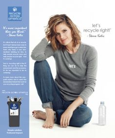 2014: Recycle Across America - 001 - Stana Katic: Stanatics Brasil Galeria de Fotos