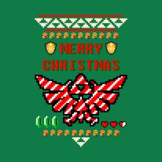 Awesome 'Ugly+Christmas+Shirt+-+Legend+of+Zelda+-+Hyrule+Holiday%21' design on TeePublic!