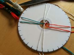 Picture of Make a Kumihimo Disk Out of a CD