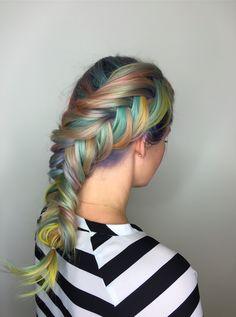 Macaron Hair Is the Most Delightful Rainbow Hair You've Ever Seen  - Cosmopolitan.com