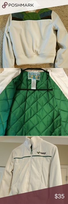 Roxy Quilted Jacket- Sz. SM A must have for any Roxy fan! In flawless condition- like new! Small enough to fit Child Sz. Large. Roxy Jackets & Coats
