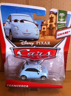 DISNEY CARS DIECAST -  Francesca  - Chase * - Combined Postage