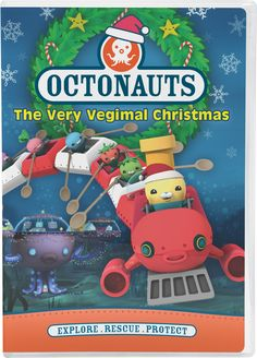 """Octonauts: The Very Vegimal Christmas"" is now on DVD!"