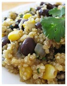 Quinoa and Black Beans (Vegetarian)