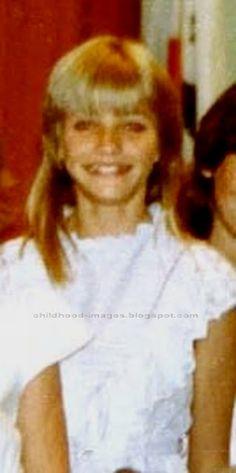 Cameron Diaz as a little girl
