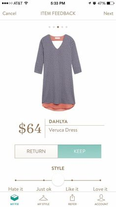 #stitchfix @stitchfix stitch fix https://www.stitchfix.com/referral/3590654 Love this dress