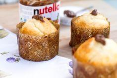 Receta de magdalenas de limón y Nutella |Http://petit-on.com RECETAS PARA NIÑOS