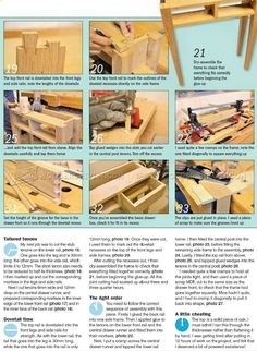 Hall Table Plans - Furniture Plans