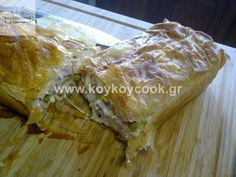080920123631 Spanakopita, Pasta, Bread, Cheese, Cooking, Ethnic Recipes, Food, Kitchen, Brot