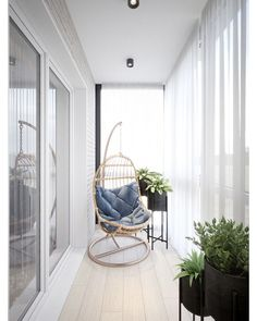 Corner for relaxation, which allows you to relax and disconnect from the bustle . Corner for relax Small Space Interior Design, Home Room Design, Bathroom Interior Design, Decor Interior Design, Interior Design Living Room, House Design, Interior Balcony, Apartment Balcony Decorating, Balcony Furniture