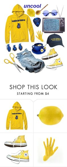 """Waterparks Weekend"" by lynn-grimm ❤ liked on Polyvore featuring Converse and Thelermont Hupton"