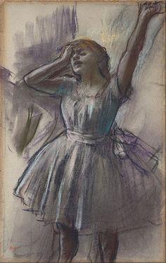 Edgar Degas - Dancer Stretching ۞۞۞۞۞۞۞۞۞۞۞۞۞۞ Gaby-Féerie : ses bijoux à thèmes…