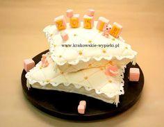 Tort na Chrzest Święty z Cukierni Krakowskie Wypieki