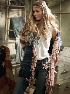 ☮ American Hippie Bohemian Boho Style ~ Americana