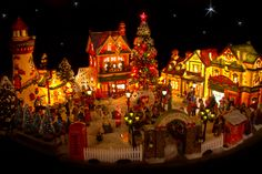 images+of+christmas+villages | Christmas Village