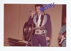 Original Elvis Presley Kodak Concert Photo Terre Haute, IN 7/9 1975 Jim Curtin!