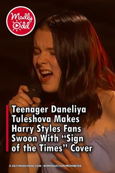 While most teenagers are chasing after their crush or working hard towards their education, Daneliya Tuleshova is doing something out of the ordinary. At just 14 years old, she's found herself performing a Harry Styles cover on America's Got Talent. #AmericasGotTalent #Teenagers #HarryStyles America's Got Talent Videos, Talent Show, Working Hard, Teenagers, The Ordinary, Boy Bands, Harry Styles, The Voice, Fan