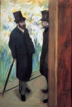 Edgar Degas - Portrait of Friends - circa 1885