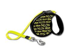 Flexi Neon Retractable Tape Lead