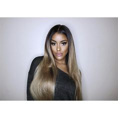 Can you say blonde shell? We are absolutely swooning over this ash blonde color on our bae! She's wearing our Indian Natural Wavy hair! This hair colors with ease & you can achieve this look with lengths + a matching lace frontal! Ash Blonde Hair, Blonde Color, Hair Color, Brown Blonde, Ombré Hair, Her Hair, Natural Wavy Hair, Natural Hair Styles, Thick Hair