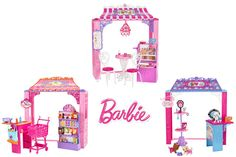 WIN Three Barbie™ Malibu Avenue Shops!