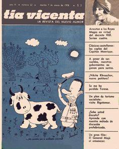 Revista Tía Vicenta, año II, número 22, martes 7 de enero de 1958. Landrú