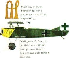 Fokker D.VII Alois Heldmann