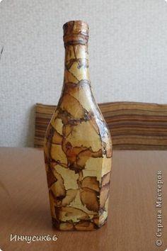 Декор предметов Декупаж Папье-маше В стиле ложный мрамор Бумага Бумага газетная Гипс Клей Чай фото 8