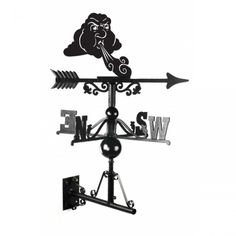 Displaying an image of fairytale-esque whimsy, this weathervane features classic design coupled with the unique image of Old Man Winter. This handcrafted, black metal item would add an unusual touch to any home, at any time of the year. Bamboo Stalks, Bamboo Leaves, Cast Iron, It Cast, Large Sheds, Easy Wall, Cat Sitting, Farm Yard, Metal Working