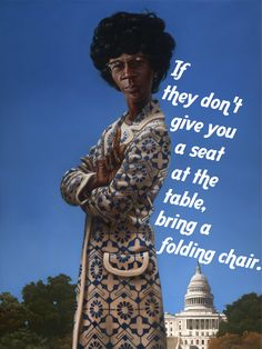 Shirley Chisholm. As the first black woman to run for president for a major political party, she was years ahead of her time. So why don't more people know about her?