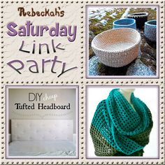 Increase your reach, make new friends and have some fun with Rebeckah's 57th Saturday Link Party via @beckastreasures   Featuring @KatKatKatoen @SCCelinaLane & Over The Apple Tree   Join the party any day from Saturday to Friday! Ends August 19th, 2016.