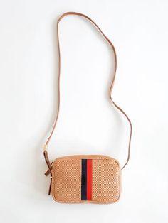 Clare V - Mini Sac - Natural Perf / Stripe