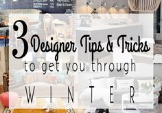 How to Cure Your Winter Blues With Design – DS2 LIVING