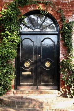 Black Front Door Designs To Inspire | Shelterness