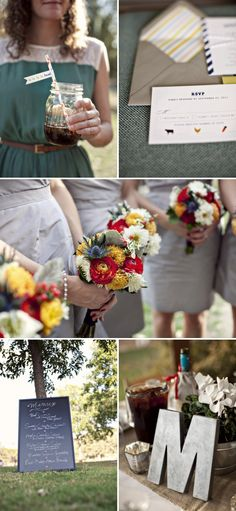 I love everything about this. #wedding